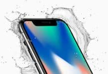 is iphone x waterproof
