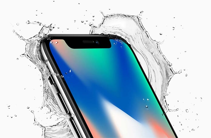 is iphone x waterproof