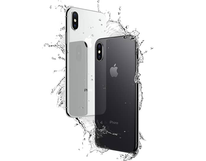 is the iphone x waterproof