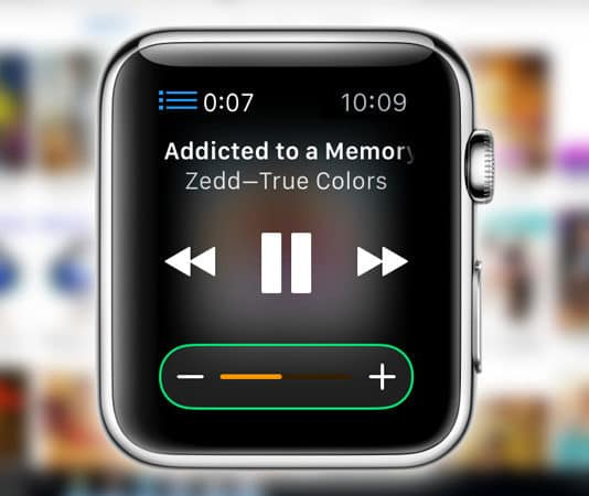 use apple watch as itunes remote