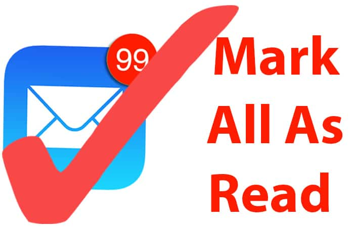 mark all emails as read