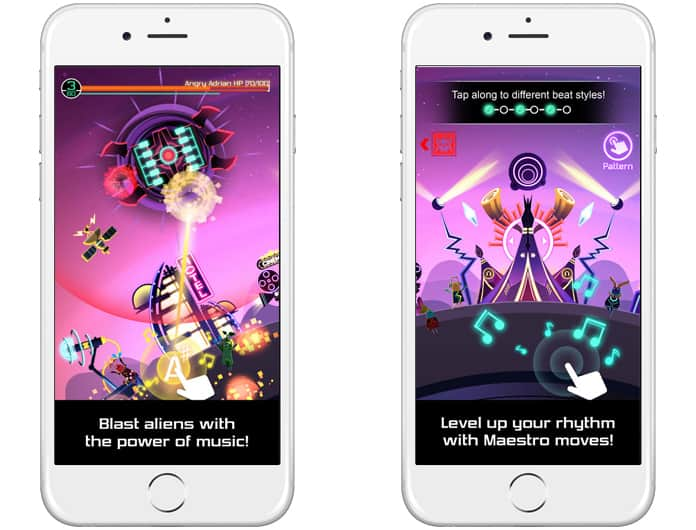 rhythm games for iphone