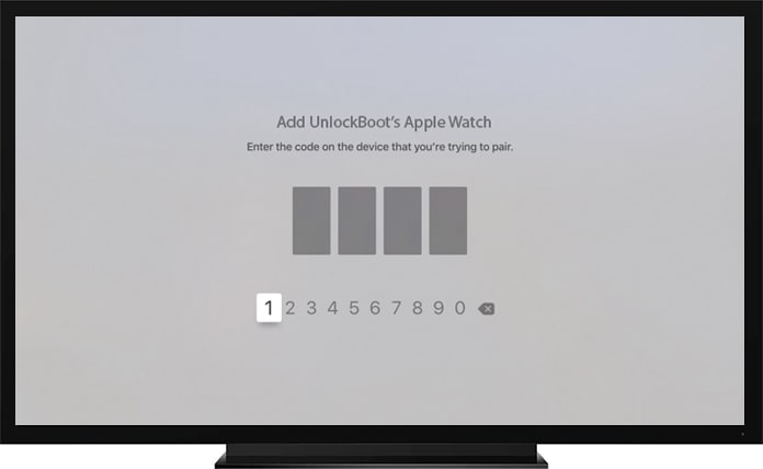 connect apple tv with apple watch