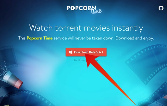 popcorn time download windows