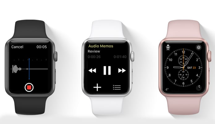 voice recording app for iwatch