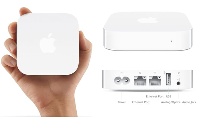 airport express default password
