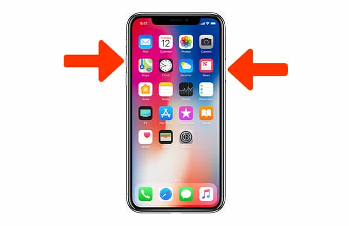 iphone screen capture 2 ways to take a screenshot on iphone x guide 3653
