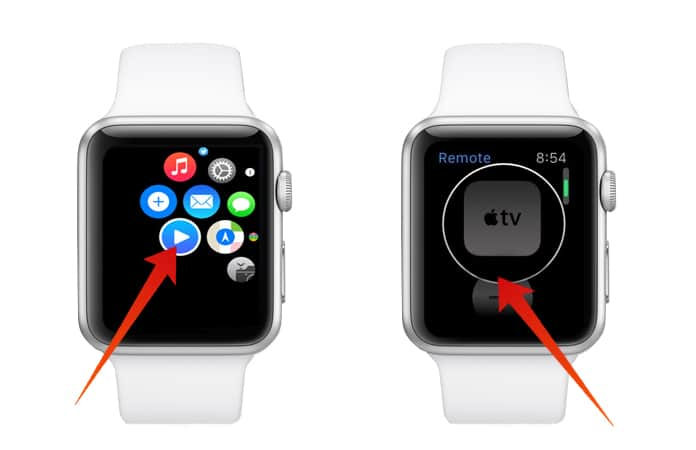 control apple tv with apple watch