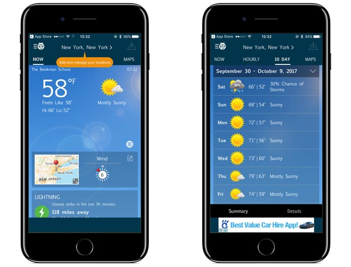 best weather app for ipad