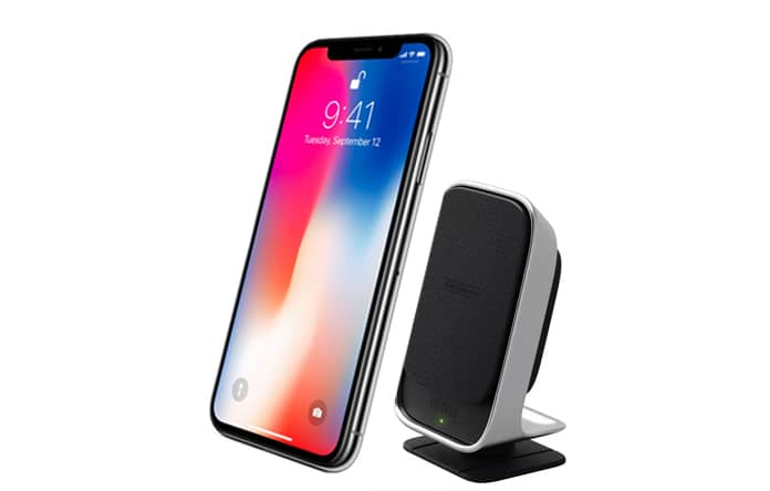 qi charger for iphone 8
