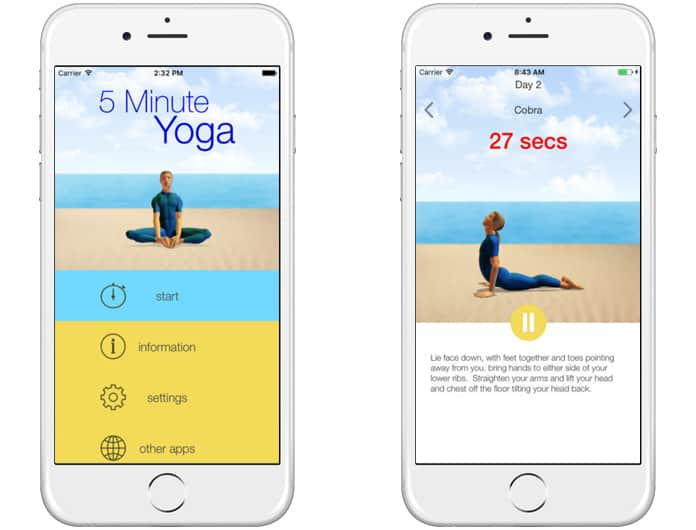 best yoga apps for ipad