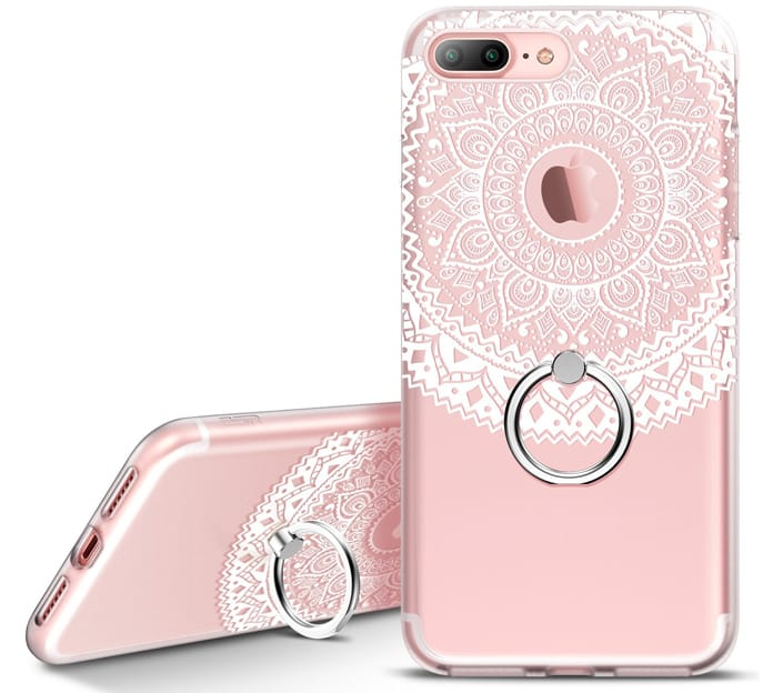 iphone ring holder case