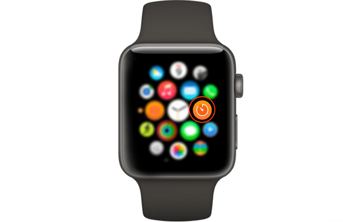 use timer on apple watch