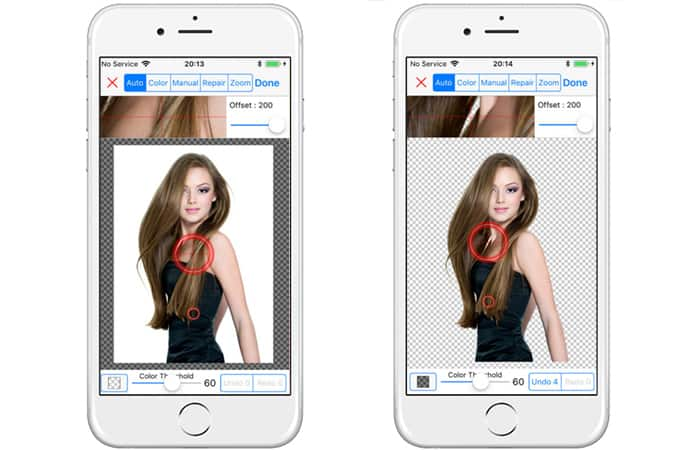 app to retouch photos on iphone
