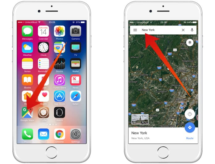 how to avoid toll roads on iphone
