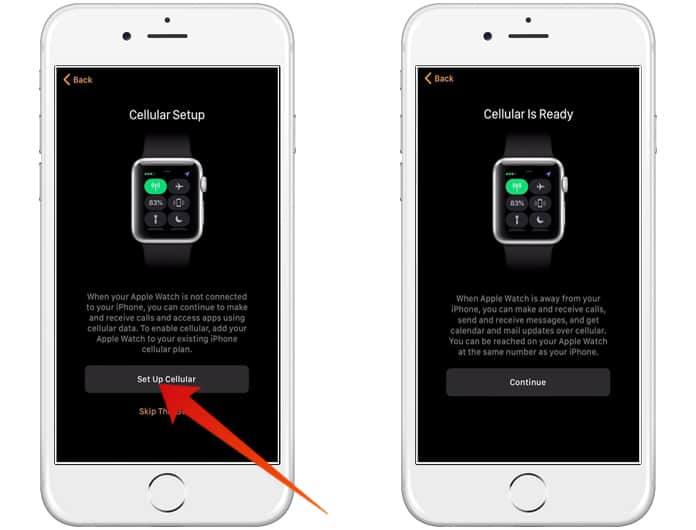 lte not working on apple watch series 3