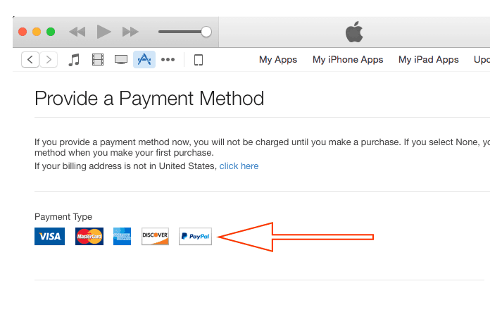 change apple id country to us without credit card