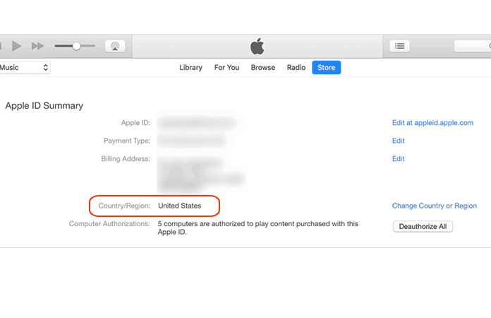 change app store country on iphone