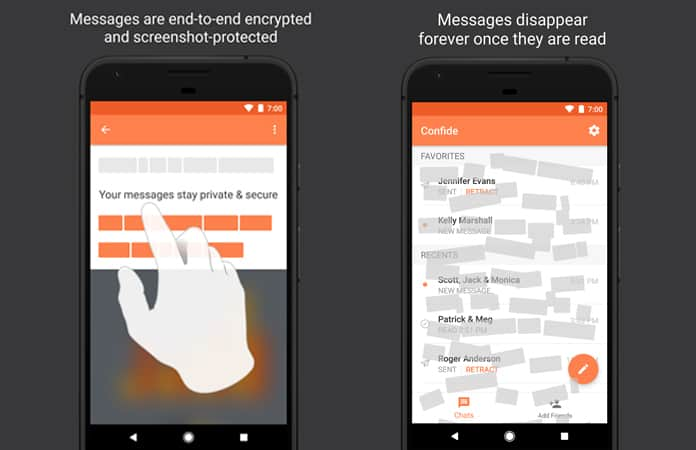 android app that deletes messages