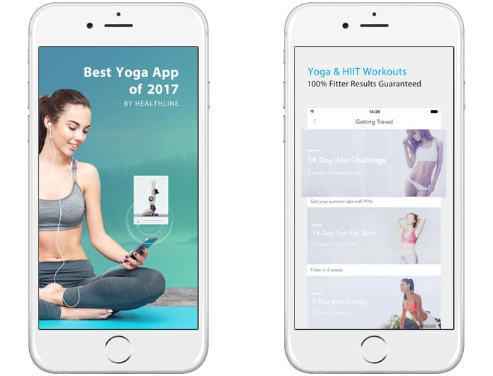 best free yoga apps for ipad