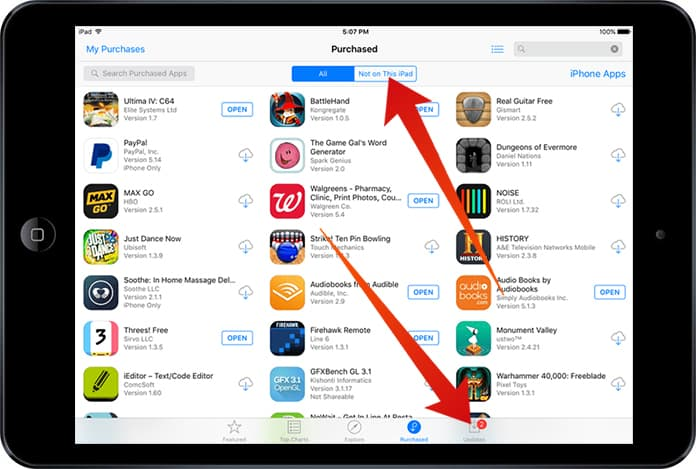 sync apps on iphone with itunes