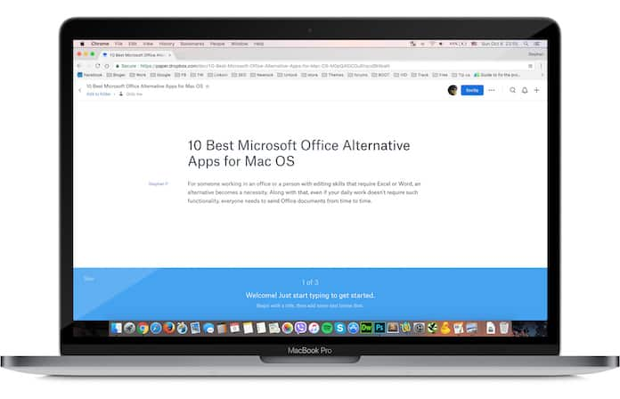 ms office alternatives for mac