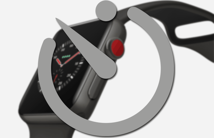 set timer on apple watch