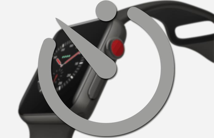 set timer on apple watch