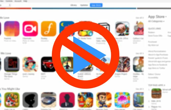 disable autoplay in app store