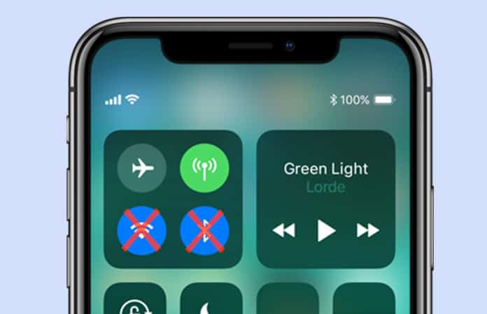 completely turn off wifi in ios 11