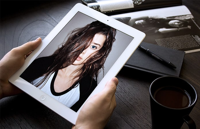 turn ipad into a digital photo frame
