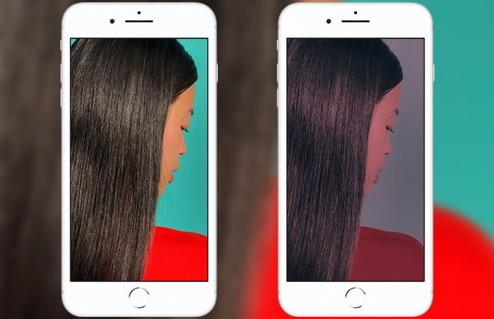retouch photos on iphone
