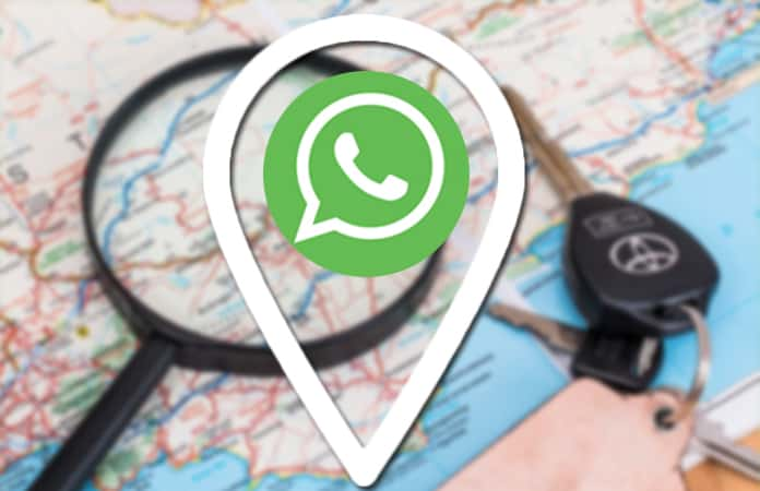 share whatsapp location on iphone