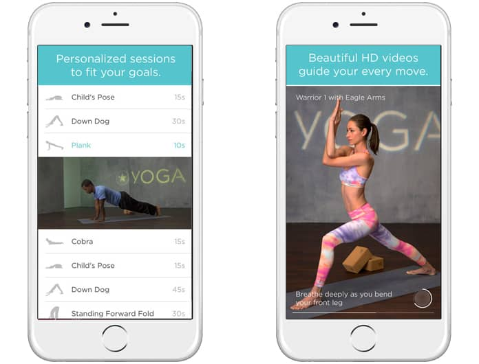 best yoga app for iphone