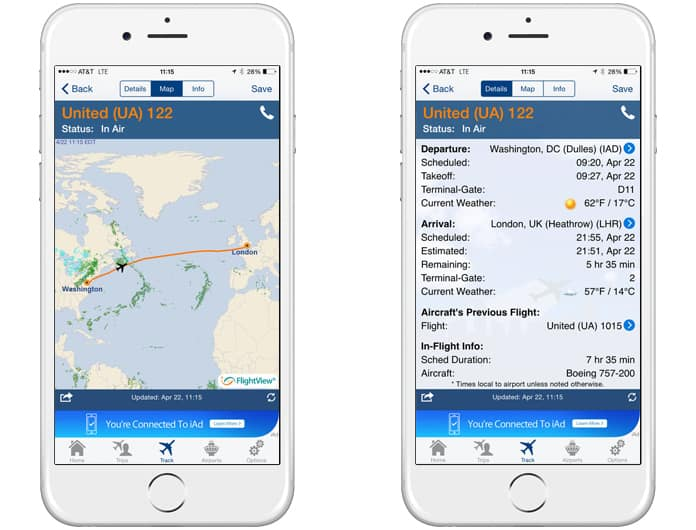 best flight tracker apps for iphone