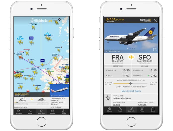 best flight tracker apps for ipad
