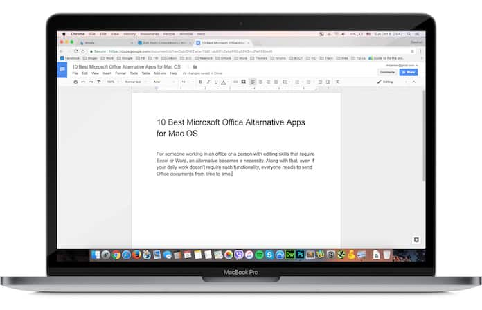 office alternative for mac