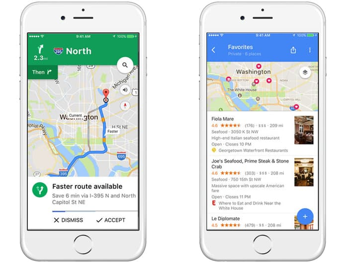 how to get voice on google maps app