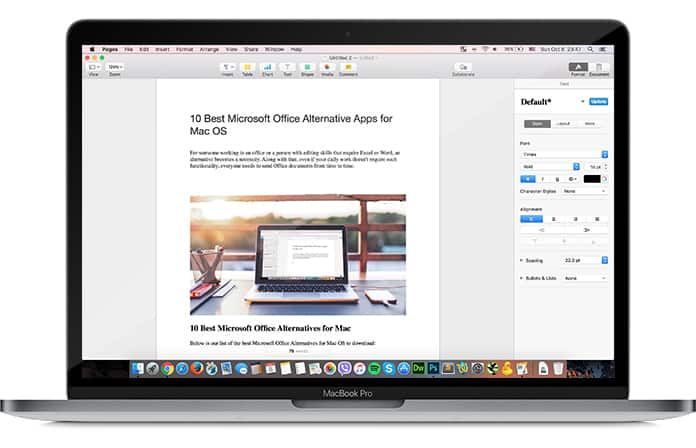 ms office alternative for mac