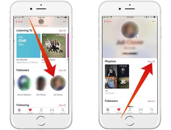 make apple music profile on ipad