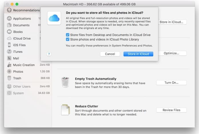 delete other on mac