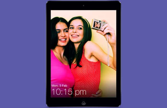 turn ipad into a photo frame