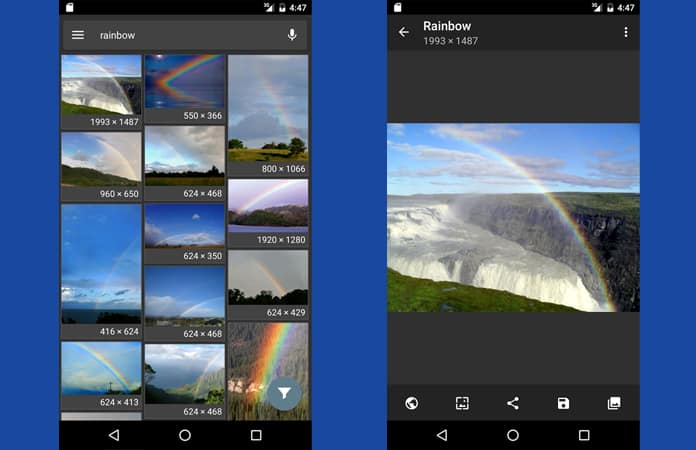 reverse image search app for android