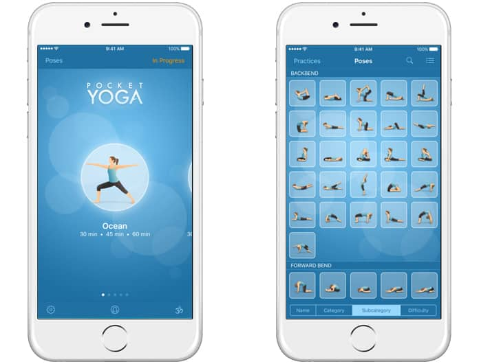 free yoga apps iphone