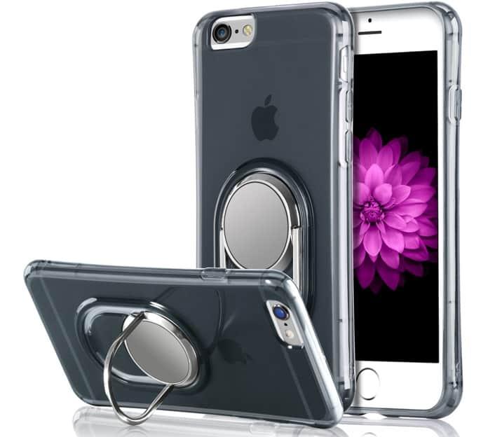 iphone 8 plus finger holder case