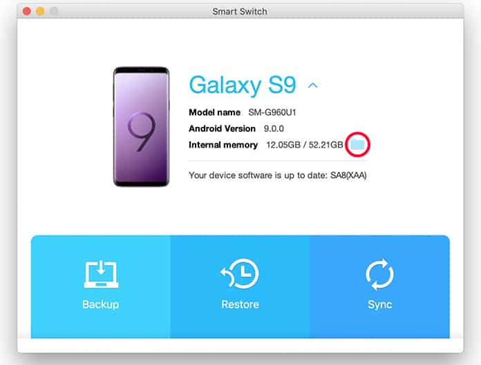 transfer files from samsung to mac