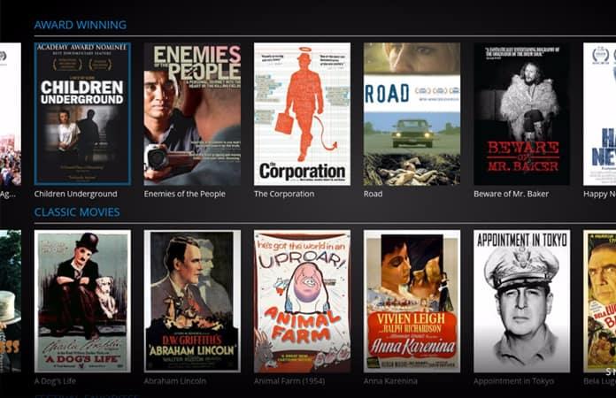 roku free movie channels