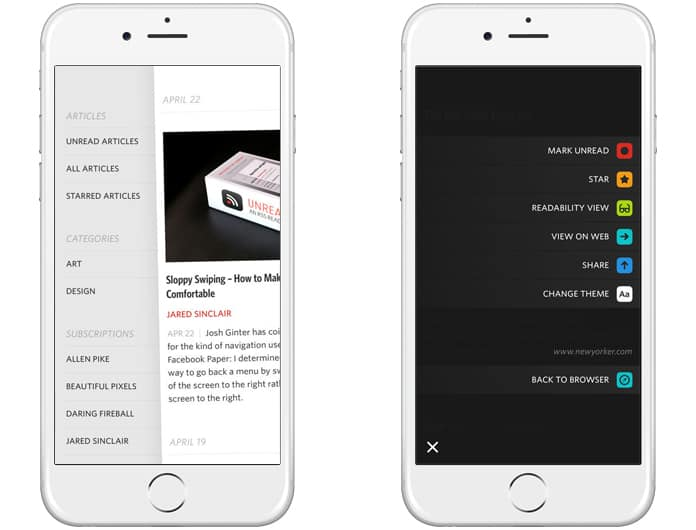 best rss reader for iphone 2017