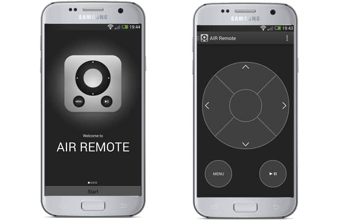 apple tv remote control app for android