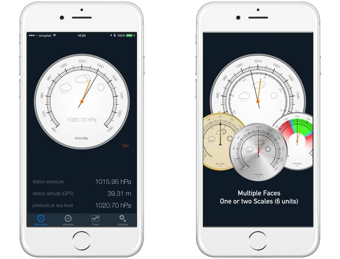 best barometer app for ipad